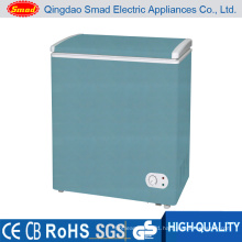 Color Commercial Single Solid Door Chest Freezer